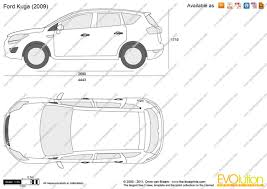 the blueprints com vector drawing ford kuga