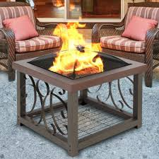 Patio Table With Firepit Best Choice Products Outdoor Pit Table Firepit Patio Garden Stove