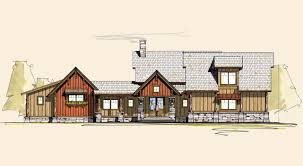 Ranch Style Home Blueprints Red Sky Ranch Style Home Designs Rustic House Plans