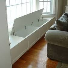 Build Storage Bench Window Seat by Clever Office Unexpected Space Window Filing And Storage