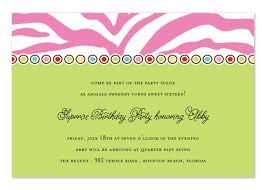 Birthday Invitation Words Birthday Invitation Wording
