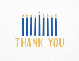 hanukah candles thank you hanukkah candles by postable postable