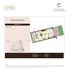 residence studio apartments type 02 floor plans