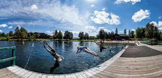 swimming lake placid adirondacks