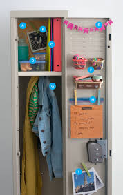 diy kids lockers the best ways to decorate and organize a locker lockers