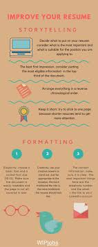 tips to make your resume the best i storytelling and formatting and design engineer resume