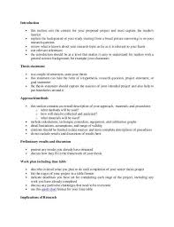 project proposal template sample examples of an individual