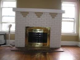 brick fireplace paint colors fireplace designs