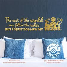 coco disney quotes the rest of the world coco inspired disney pixar quote wall vinyl