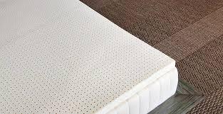 amazon com pure green 100 natural latex mattress topper medium