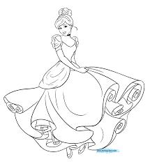 cinderella coloring cinderella