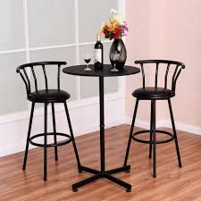 bar stools pub table and chairs 5 piece indoor bistro set target