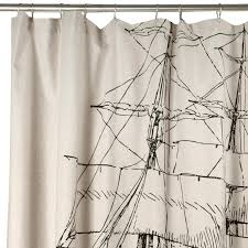 bathroom unique nautical shower curtain for inspiring beach style