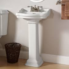 Lowes Bathroom Designs Bathroom Exciting Kohler Pedestal Sink With Graff Faucets And