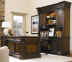 Executive Desk And Credenza Hooker Furniture European Renaissance Ii Office Wall Unit With