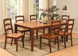 Oval Kitchen Table Sets Pc Oval Dinette Dining Room Set Table W 8 Plain Wood Seat Chairs