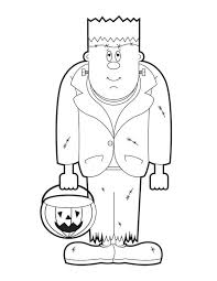frankenstein pumpkin lamp coloring download u0026 print