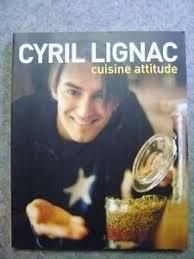 livre de cuisine cyril lignac livre cuisine attitude avec cyril lignac r22 ebay