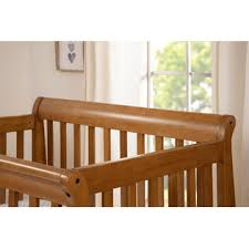 Mini Crib Davinci Davinci Kalani 2 In 1 Convertible Mini Crib Chestnut