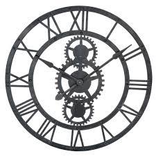 maison du monde k che horloge en métal d 76 cm temps modernes maisons du monde