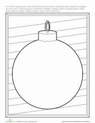 ornament worksheet education