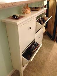 Bench With Storage Baskets by Interior Image Of Hallway Bench With Storagecoaster Entryway