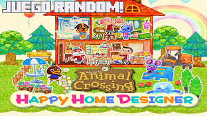 juego random animal crossing happy home designer el decorador