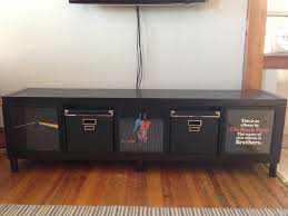 expedit tv stand for the music man ikea hackers ikea hackers