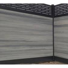 home depot black friday fencing simtek ashland 6 ft h x 6 ft w walnut brown composite fence
