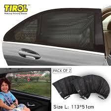 protection si e arri e voiture tyrol t11724a 2 pc nouveau maillage uv protection de voiture fenêtre