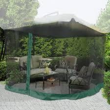 Patio Canopy Gazebo by Yescom 9ft Umbrella Mosquito Net Outdoor Patio Mesh Screen Anti