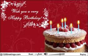 birthday greeting cards aw my parents send me a happy birthday e card dear wishing
