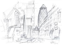 10 x 10 famous artists and architects draw the city londonist