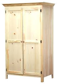 Unfinished Bookcases With Doors Wardrobes Unfinished Wood Wardrobe Armoires Panel Door Wardrobe