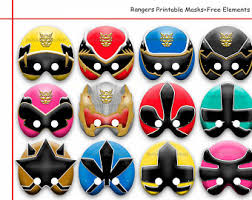 power rangers wrapping paper power ranger mask etsy