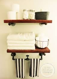 Shelves In Bathrooms Ideas Diy Industrial Farmhouse Shelving Hometalk
