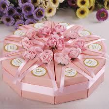 wedding cake gift boxes 10pcs creative cake candy box wedding party cake chocolate gift