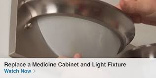 How To Replace A Medicine Cabinet Mirror Shop Bathroom Storage At Lowes Com