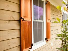 Where To Buy Wood Blinds Here Are The Four Types Of Exterior Window Shutters Diy