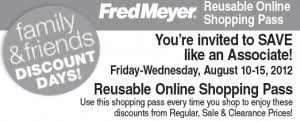 target employee discount black friday fred meyer friends and family discount get employee discount
