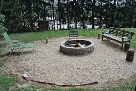 Build A Backyard Fire Pit by Build A Fire Pit In Two Hours Or Less