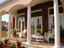 beautiful front porch designs for colonial homes photos
