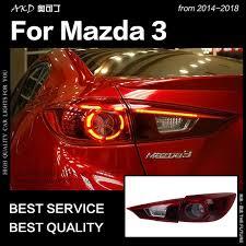 mazda 3 tail lights akd car styling for mazda 3 tail lights 2014 2018 mazda3 axela sedan