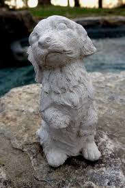 Statue For Garden Decor Cute Sitting Persian Cat Statue Concrete Garden Decor Cat