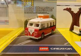 camper van lego exclusive lego mini volkswagen t1 camper van photos u0026 comparison