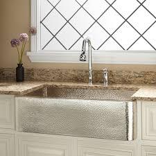 Farm Sink Kitchen by Aren U0027t These Hammered Nickel Kitchen Sinks Just Gorgeous We Wish