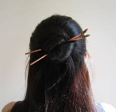 chopsticks for hair hair style with chopstick trendy mods