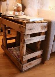 Making Wooden End Table by 6 Diy Wooden Pallet Side Tables Diy Furniture Ideas
