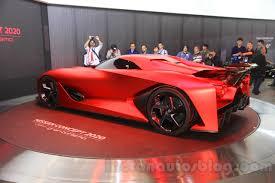nissan gran turismo nissan concept 2020 vision gran turismo at the 2015 tokyo motor