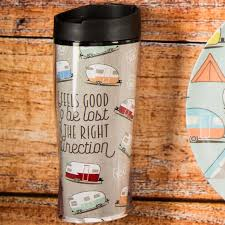 rv and camper insulated travel mugs for sale toyhauler and tents